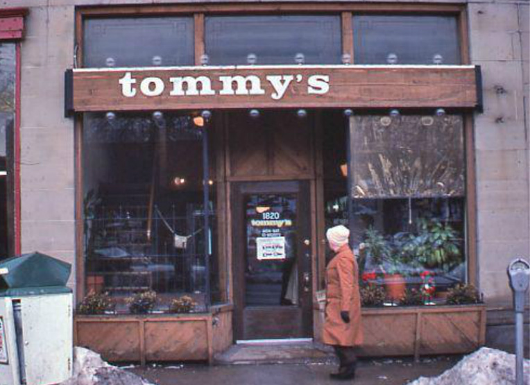 Tommy's second location